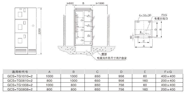 主电路系统组合顺序图 辅助电路电气原理图 柜内元器件清单 电路中